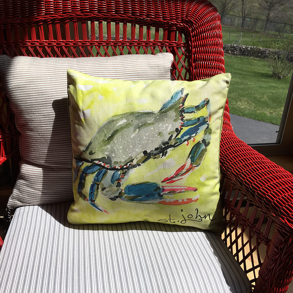 Blue Crab Kitchen Decor